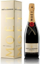 Moet & Chandon Brut Imperial in gift box (Моет и Шандон Брют Империал в п/у)
