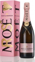 Moet & Chandon Brut Imperial Rose in gift box (Моет и Шандон Брют Империал Розе в п/у)